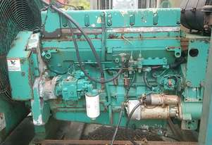 LTA-10 cummins diesel engine , complete runner , ex genset