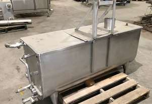 STAINLESS ASSOCIATES paddle mixer
