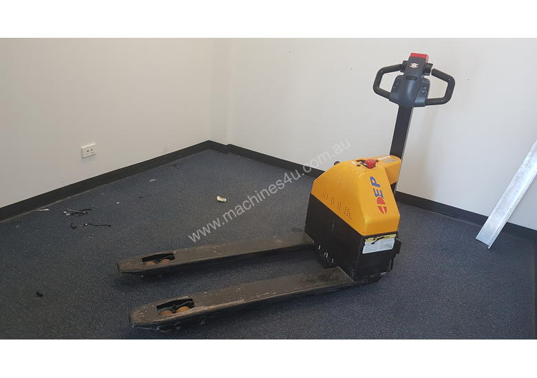 2 Ton Walk Behind Pallet Stacker Electric Forklift Price 1: Used Hyster Hyster Walk Behind Forklift Reach Truck And