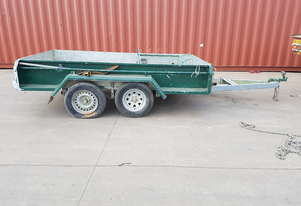 2017 Custom 10x4 Galvanised Trailer