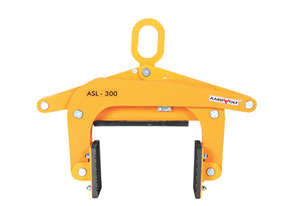 Scissor Clamp Lifter.  Slab lifting attachment.