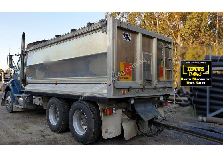 2006 Sterling Alloy Tipper with Tefco Quad Alloy Trailer.  TS496