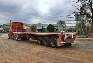 Haulmark Semi Flat top Trailer