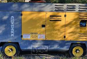 Atlas Copco XRHS506CD Mobile compressor. E.M.U.S. MS594