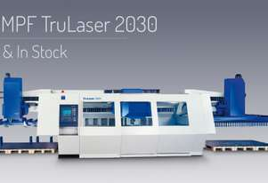 Headland Machinery » In Stock, Sheet Metal » Used TruLaser 2030 CO2 TRUMPF Laser Cutting Machine for