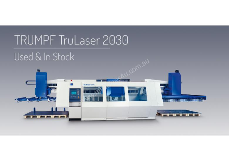 Headland Machinery � In Stock, Sheet Metal � Used TruLaser 2030 CO2 TRUMPF Laser Cutting Machine for