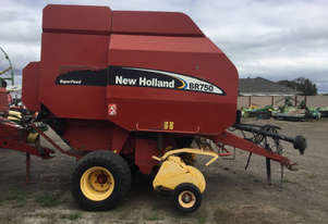 New Holland BR750 Round Baler Hay/Forage Equip