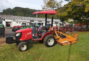 TYM   TS25 tractor with slasher