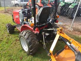 TYM TS25 tractor with slasher - picture1' - Click to enlarge