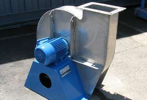 Stainless Steel Centrifugal High Pressure Blower Fan - 1.5kW - Aerovent