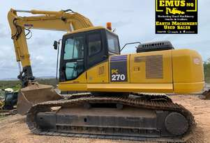Excavator 27t Komatsu with Hammer piping and Quick hitch