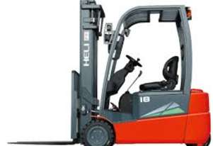 New Heli CPD18SQ-GB2 3 wheel battery electric forklift