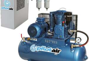 K30 Industrial Pilot Air Compressor & TFD-10 Refrigerated Air Dryer Package Deal 200 Litre / 7.5hp 3