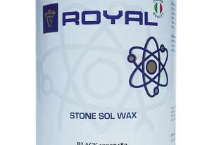 Royal   Stone Sol Wax Black 1L
