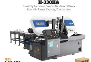 New Euro H330-HA NC Programmable Fully Auto Twin Column Bandsaw