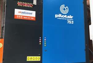 Pilot PAC75 - 75kw Electric Screw Compressor - 431cfm - 10bar