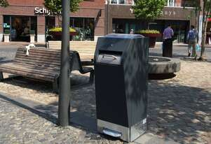 RAY Solar Powered Waste Compactor Bin