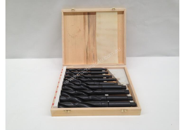10 Piece M.T Shank Drill Set - 14.5mm -23.00mm