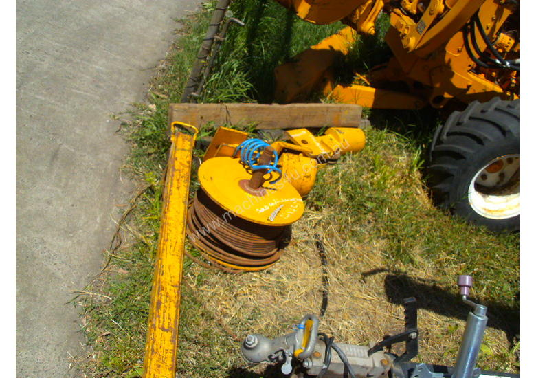 30 Kn andromeda cable winch , 2cyl diesel powered