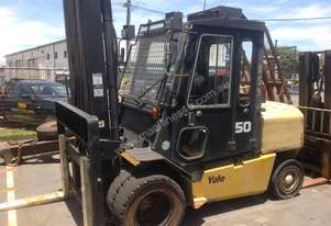 Yale GDP50MH Used Forklift - 5 Tonnes (0859)