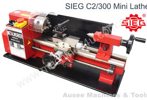 SIEG C2 /180x300mm Mini Lathe Variable Speed