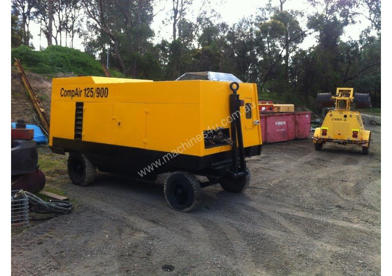 Used Compressors Australia Diesel Compressor for sale - Compair 125 ...