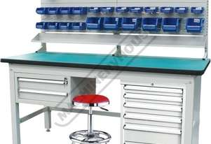 IWB-40P5 Industrial Work Bench Package Deal 1800 x 750 x 1725mm 1000kg Load Capacity