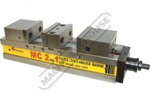 DAV-130V Safeway Double Lock Vice 130mm Jaw Width 0 - 85 & 0 - 85mm Jaw Opening