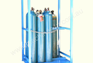 Dual Sided Access 130Kg Open Type Gas Storage Cage