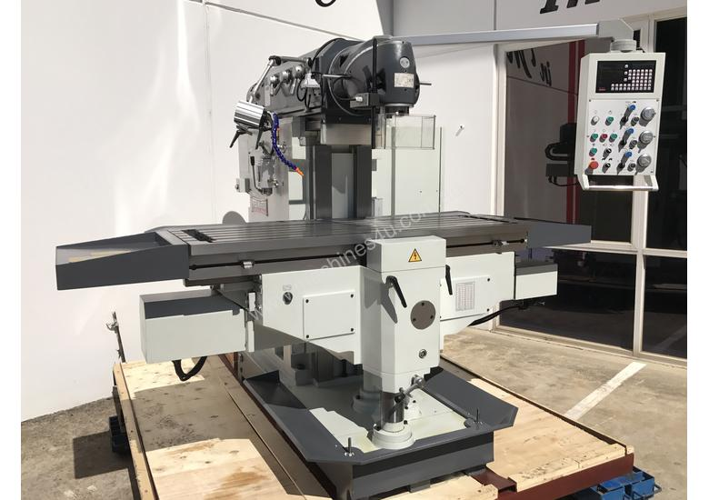 Heavy Duty Bed Type Milling Machine ISO 50 Spindle Servo Ballscrew Drive 1635mm x 460mm
