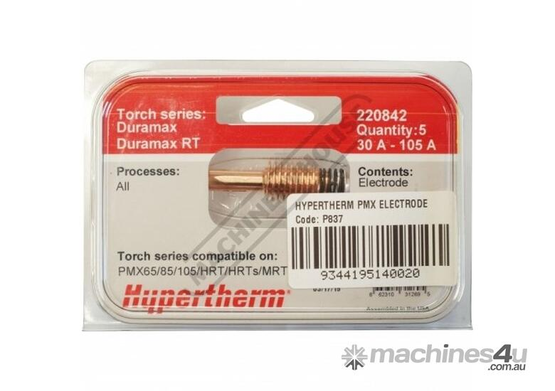 220842 Hypertherm 30-105A Electrode  (Pack of 5)