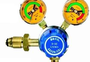 BOSSWELD 400210 TWIN GAUGE ARGON/CO2 GAS REGULATOR