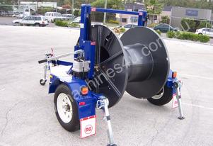 1 TONNE SELF LOADING CABLE TRAILER