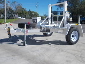 REDMOND GARY 1.0 Tonne Self Loading Cable Drum Trailer - picture2' - Click to enlarge