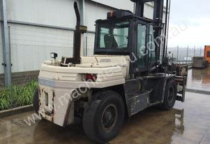 Crown C160 16 Tonne forklift 6500mm lift height