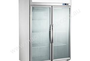 2 Door Commercial Display Freezer