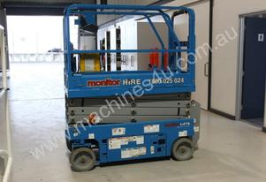 2014 Genie GS1932 -  Narrow Electric Scissor Lift