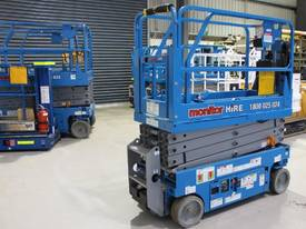 2014 Genie GS1932 -  Narrow Electric Scissor Lift - picture5' - Click to enlarge