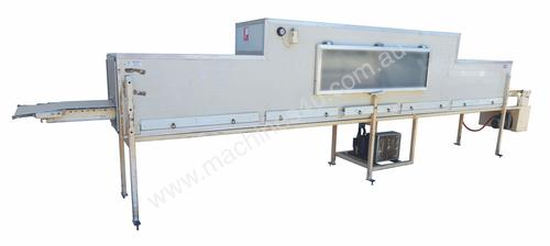 Cooling Tunnel with refrigeration unit