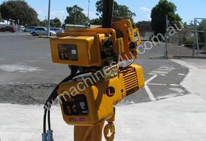 1 Ton Electric Chain Hoist Motorised Trolley