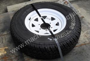 235/75R15 6ply Trailer/4x4 Tyre Rim Wheel assemble