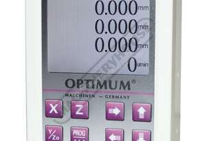 DR05 3-Axis Optimum Digital Readout Counter - 1µm Includes RPM Speed Display Suits Lathes & Mills