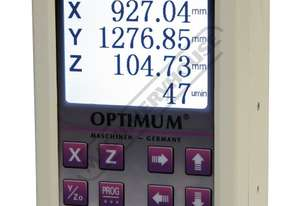 DRO5 3-Axis Optimum Digital Readout Counter - 1µm Includes RPM Speed Display Suits Lathes & Mills