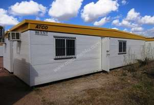 """ATCO 12m ( 40"""" ) Portable Offices – 3 Rooms"""