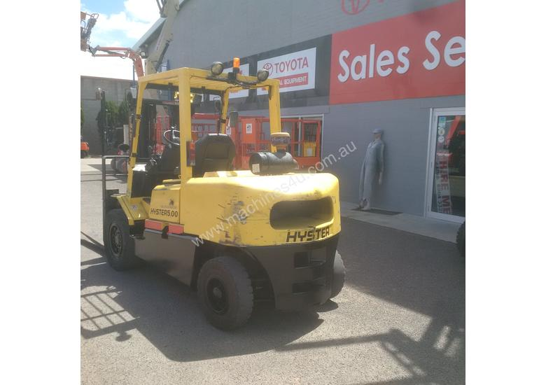 HYSTER 5 TON DIESEL CONTAINER MAST FORKLIFT