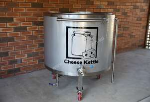 500ltr batch pasteuriser / cheese kettle