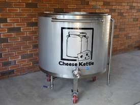 500ltr batch pasteuriser / cheese kettle - picture0' - Click to enlarge