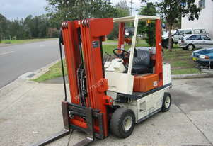 NISSAN 2.5T 5.5M CONTAINER ENTRY FORKLIFT (QUAD MAST)