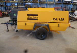 Atlas Copco XAS125, 250cfm Air Compressor