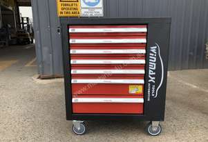 NEW Mobile 7 Drawer Cabinet w/ 196 Piece Tool Kit
